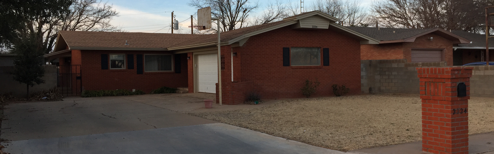 Home for sale in Lamesa Texas
